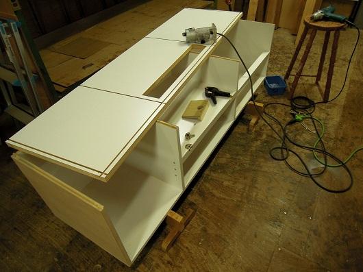 S 邸 テレビボード