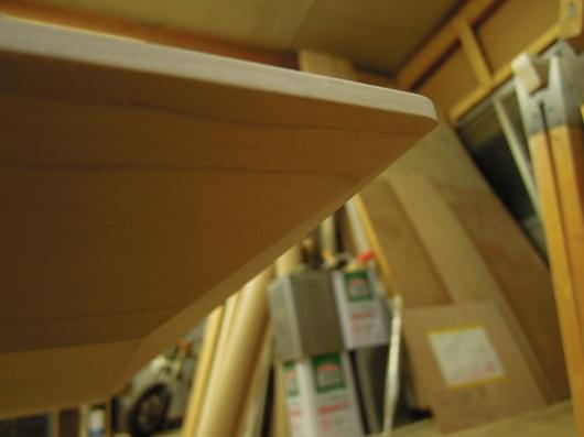 ハードメープルの座卓