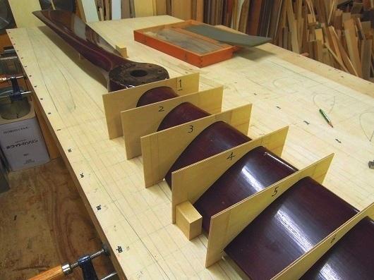 木製プロペラ製作 その1