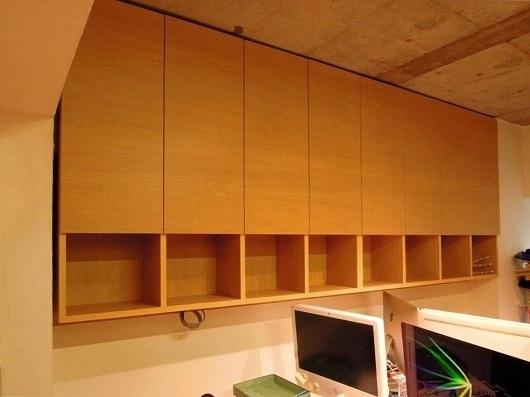 渋谷区 設計事務所 吊戸棚納品