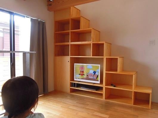 狛江市 K 邸 階段収納