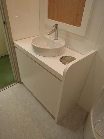こちらは女子トイレ。