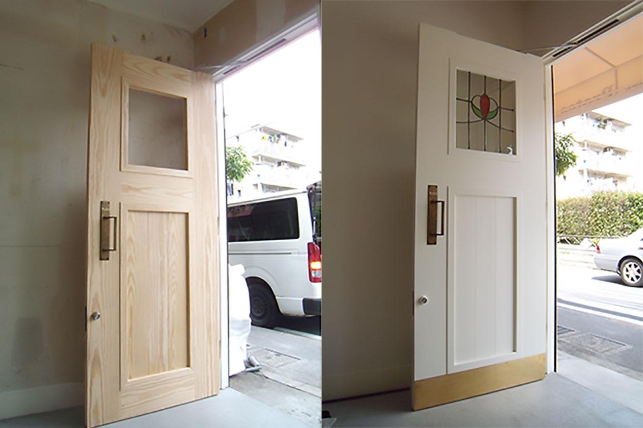 ベーカリーP ドア